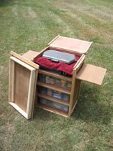 Homemade Camping Chuckbox - YouTube